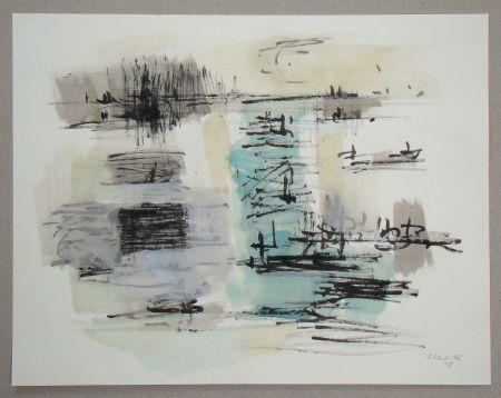 ステンシル Bazaine - Composition, 1957