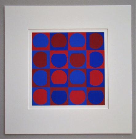 シルクスクリーン Vasarely - Composition 1964