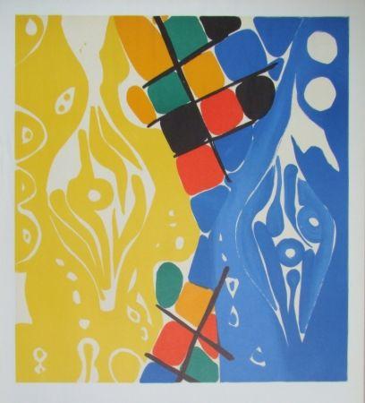 リトグラフ Nay - Composition 1966-1