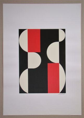 シルクスクリーン Béöthy Steiner - Composition, 1970