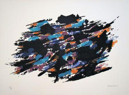 リトグラフ Manessier - Composition, 1971