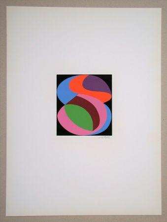 シルクスクリーン Béöthy Steiner - Composition, 1972