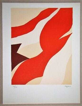 リトグラフ Bazaine - Composition 1974