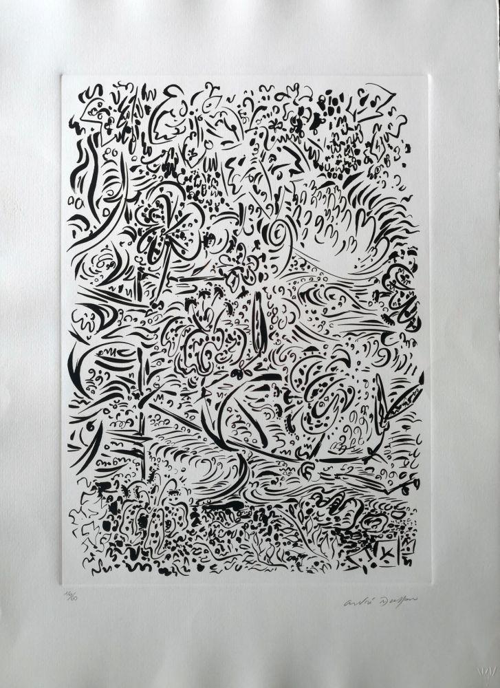 エッチング Masson - Composition 2