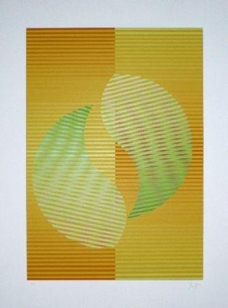 シルクスクリーン Sempere - Composition 2