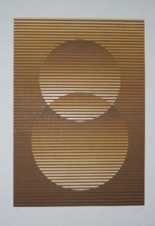 シルクスクリーン Sempere - Composition 3