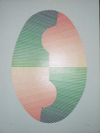 シルクスクリーン Sempere - Composition 4