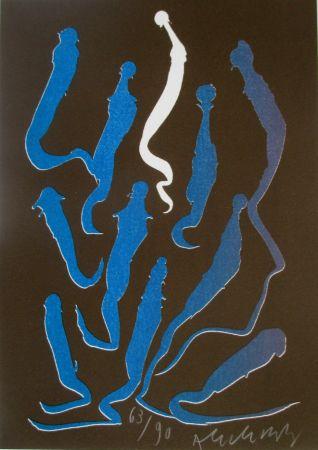 リトグラフ Alechinsky - Composition 5/8