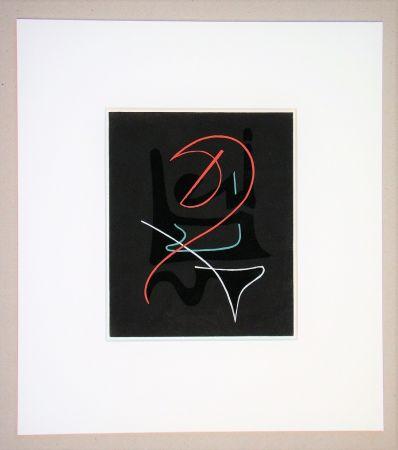 ステンシル Domela - Composition abstrait