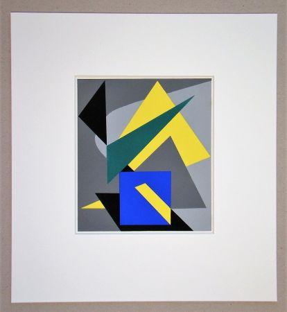 ステンシル Bloc - Composition abstrait