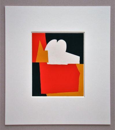 ステンシル Poliakoff - Composition abstrait