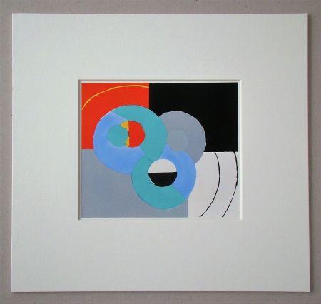 ステンシル Delaunay - Composition abstrait