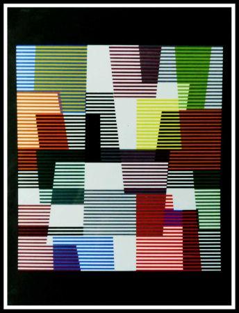 リトグラフ Agam - Composition abstraite
