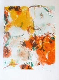 リトグラフ En Jong - Composition Abstraite