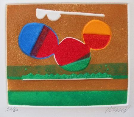 エッチングと アクチアント Dorny - Composition abstraite