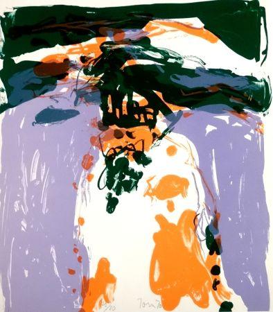 リトグラフ Jorn - Composition colorée
