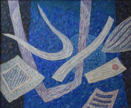 技術的なありません Goetz - Composition en bleu