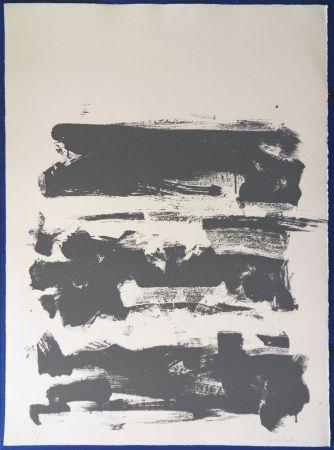 リトグラフ Mitchell - Composition en gris