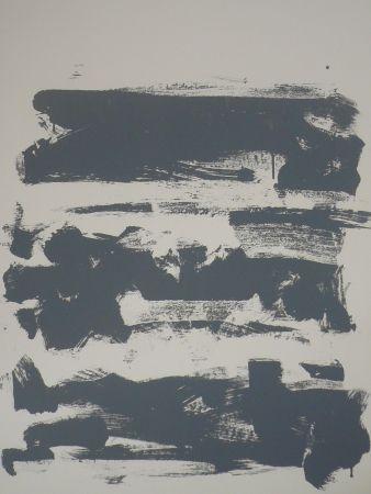 リトグラフ Mitchell - Composition grise