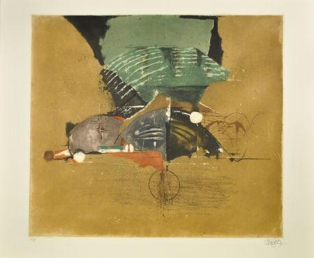 エッチングと アクチアント Friedlaender - Composition I