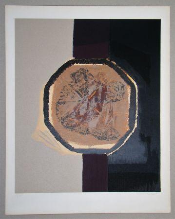 シルクスクリーン Piaubert - Composition I. - 1964