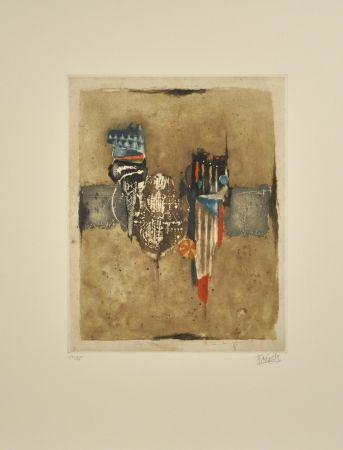 エッチングと アクチアント Friedlaender - Composition II