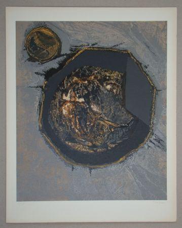 シルクスクリーン Piaubert - Composition II. - 1964