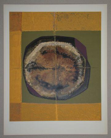 シルクスクリーン Piaubert - Composition IV. - 1964
