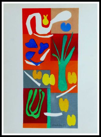 リトグラフ Matisse (After) - COMPOSITION MARINE