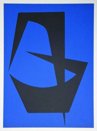 リトグラフ Forani - Composition pour Art Abstrait