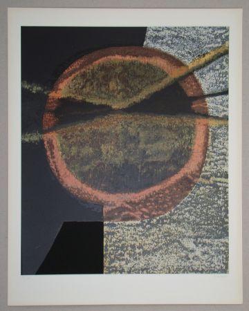 シルクスクリーン Piaubert - Composition V.-1964
