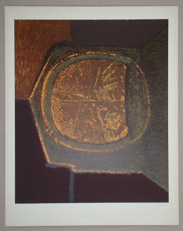 シルクスクリーン Piaubert - Composition VI.-1964