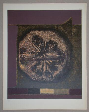 シルクスクリーン Piaubert - Composition VII.-1964