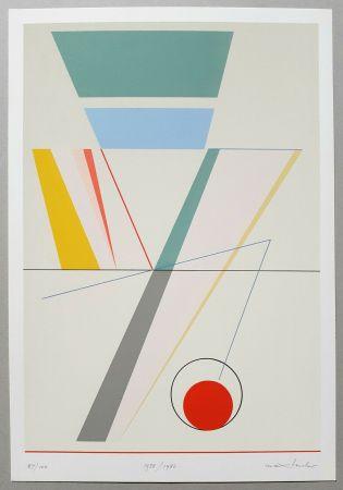 シルクスクリーン Huber - Composition WK