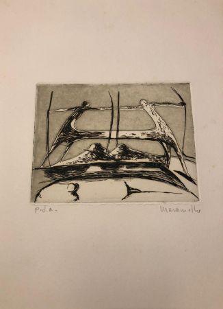 彫版 Maraniello - Composizione