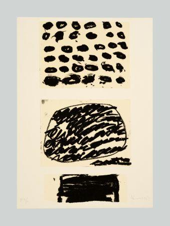 リトグラフ Kounellis - Composizione