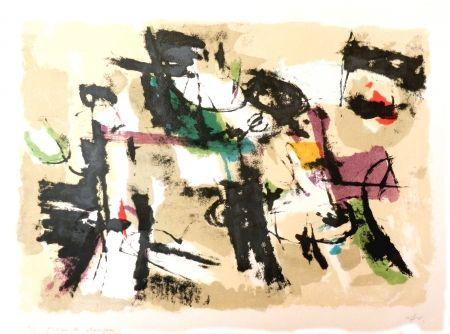 リトグラフ Afro - Composizione