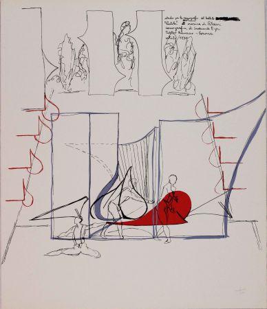 リトグラフ Bonalumi - Composizione