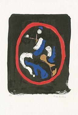 リトグラフ Marini - Composizione