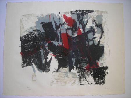 リトグラフ Afro - Composizione II