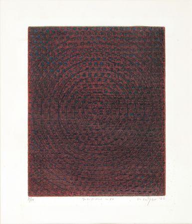 リトグラフ Nigro - Composizione n. 34