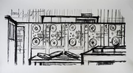 リトグラフ Buffet - Computer, Siemens,