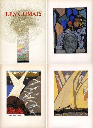 挿絵入り本 Schmied - Comtesse de Noailles : LES CLIMATS. Société du Livre Contemporain (1924).