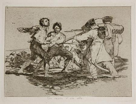 彫版 Goya - Con razón o sin ella