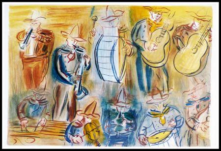 リトグラフ Dufy - CONCERT DES ANGES