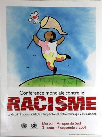 オフセット Ungerer - Conference Mondiale Contre le Rascisme 2001