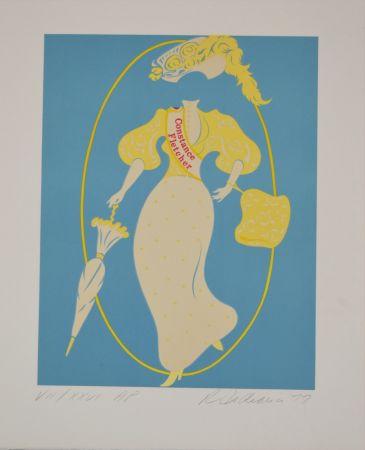 リトグラフ Indiana - Constance Fletcher - Mother of us all portfolio