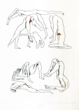 彫版 Cuevas - CONTORSIONISTA