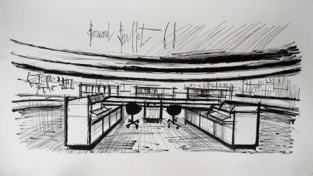 リトグラフ Buffet - Control Room, Siemens,