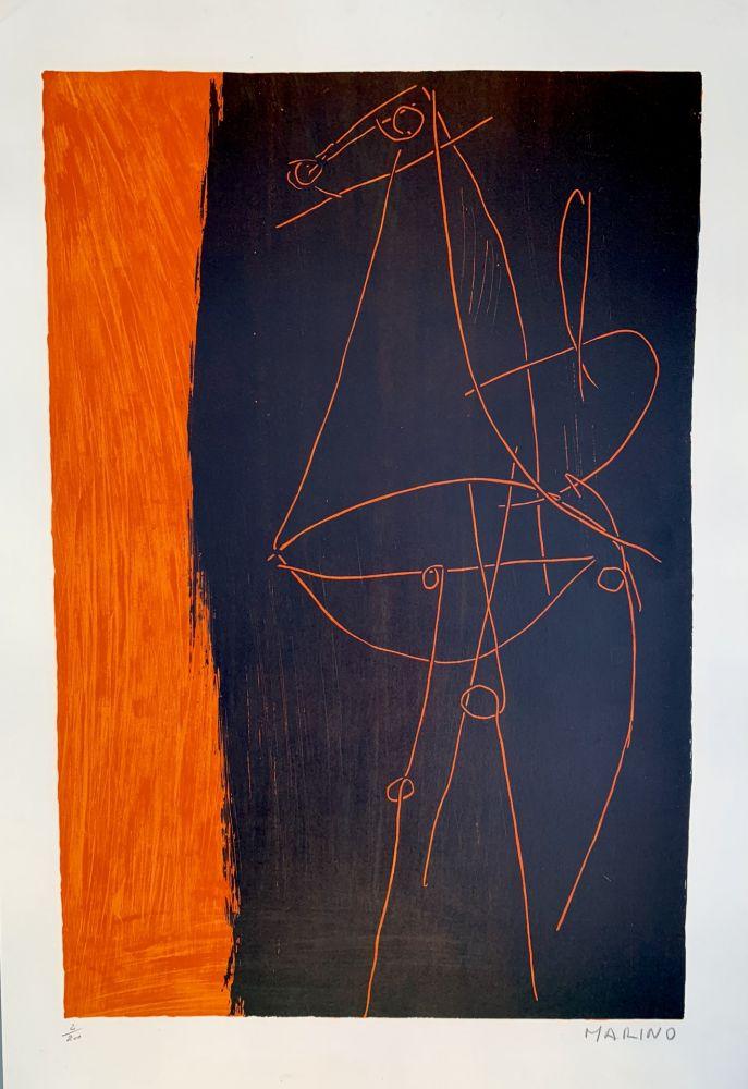リトグラフ Marini - Coposizione, 1955